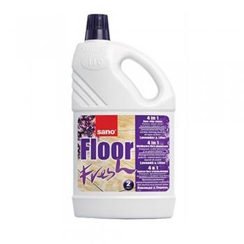 Detergent pardoseala, Sano, Floor Fresh, liliac, 4 l