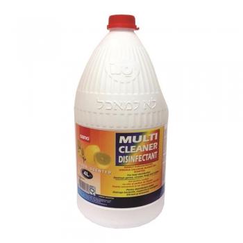Detergent gel dezinfectant pentru suprafete diverse Sano multicleaner, 4 l