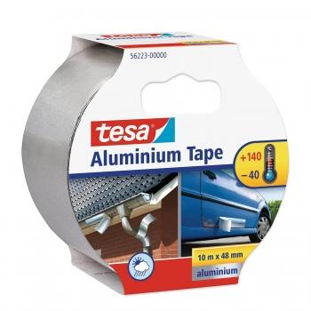 Banda adeziva din aluminiu Tesa, 50 mm x 10 m