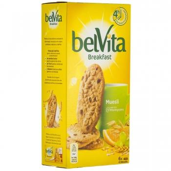 Biscuiti Belvita Start Cereale & Fructe, 300 g