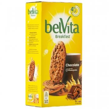 Biscuiti Belvita Start Cereale & Ciocolata, 300 g