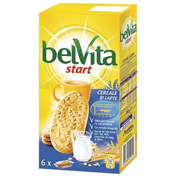 Biscuiti Belvita Start Cereale & Lapte, 300 g