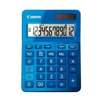 Calculator de birou Canon LS123KBL, 12 digiti, albastru