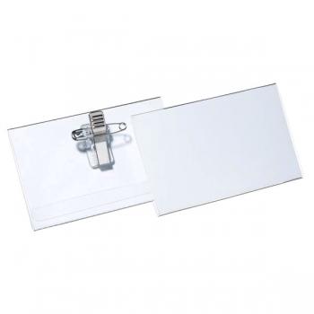 Ecuson orizontal cu ac si clip, 54 x 90 cm, 50 bucati/cutie