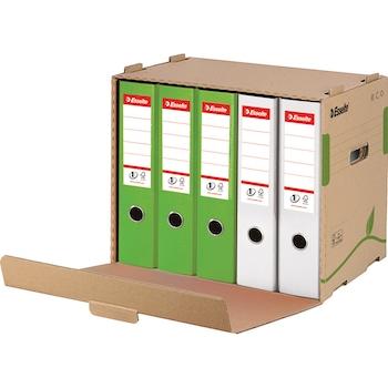 Container de arhivare Esselte Eco pentru bibliorafturi