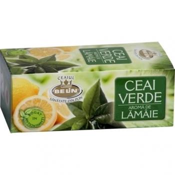 Ceai verde cu lamaie Belin, 20 plicuri/cutie
