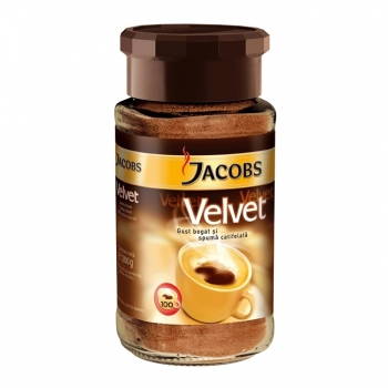 Cafea instant Jacobs Velvet, 200 g