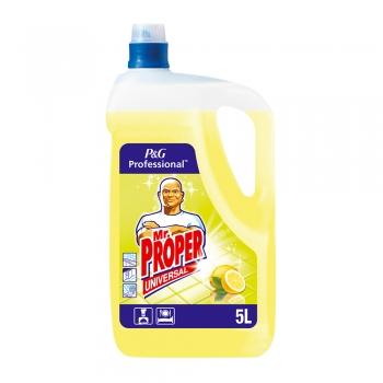 Detergent pardoseala, Mr Proper, Lemon, 5 l