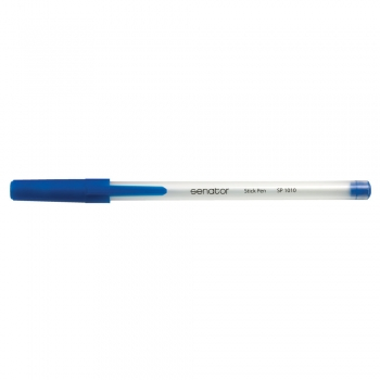 Pix, Senator, Stick Pen, seria 1000, 0.7 mm, plastic, albastru