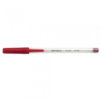 Pix, Senator, Stick Pen, seria 1000, 0.7 mm, plastic, rosu