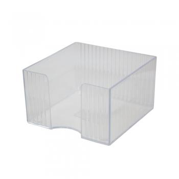 Suport cub hartie Flaro, Star, 90x90 mm, plastic, transparent