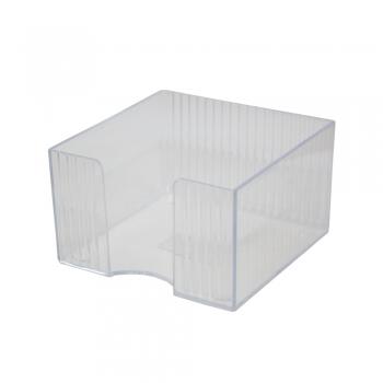 Suport cub hartie Flaro Star, plastic, 90 x 90 mm, fumuriu