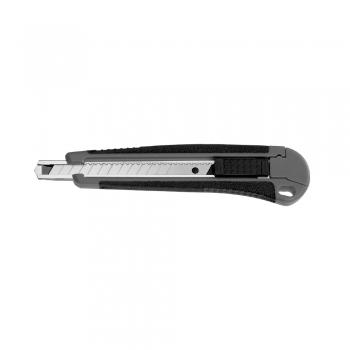 Cutter mic A-series, 9 mm, sina metalica, grip confortabil