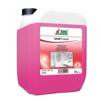 Detergent pentru spatii sanitare IVECID, 10 l