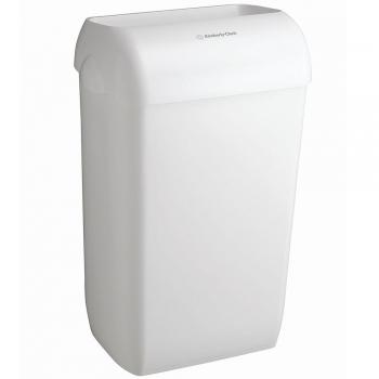 Cos pentru gunoi, Kimberly-Clark, Aquarius, 43 l, alb