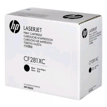 Toner, HP, CF281XC, 25000 pagini, negru