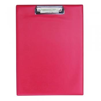Clipboard simplu, A4, PVC, rosu