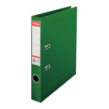Biblioraft Esselte No.1 Power, PP/PP, A4, 50 mm, verde