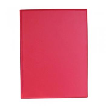 Clipboard dublu, A4, PVC, rosu