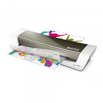 Laminator Leitz, iLAM Home Office, A4, gri