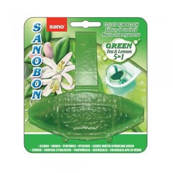 Odorizant toaleta Sano Bon Green, 55 g
