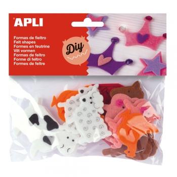 Set Animale predecutate APLI, 18 bucati/set