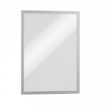 Magnetic Duraframe Durable A4 argintiu, 5 bucati/set