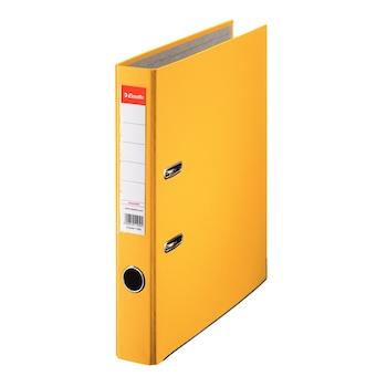 Biblioraft Esselte Economy, PP, A4, 50 mm, galben