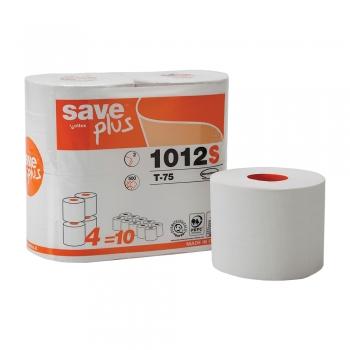 Hartie igienica mini, Celtex 1012S, 2 straturi, alba, 500 portii, 4 role/set