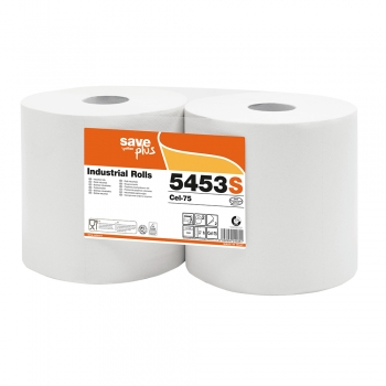 Rola lavete industriale, Celtex 5453S, 2 straturi, 280 m, 1000 portii/rola, 2 role/set