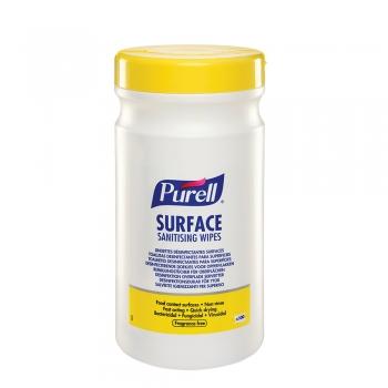 Servetele dezinfectante, Purell Surface, pt suprafete, 200 portii/pachet