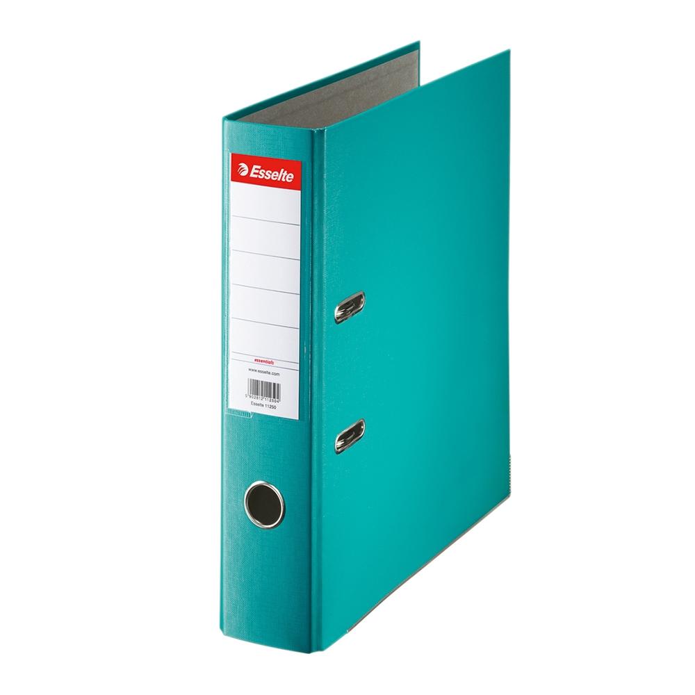 Biblioraft Esselte Economy, PP, A4, 75 mm, turcoaz