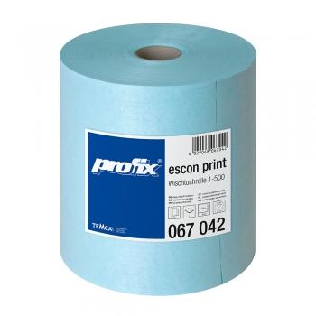 Laveta industriala, albastru turcoaz, 38 x 30 cm, 500 portii/rola