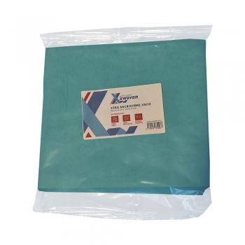 Lavete Xtra XM10, microfibre, 40x40 cm, albastru, 10 buc/set
