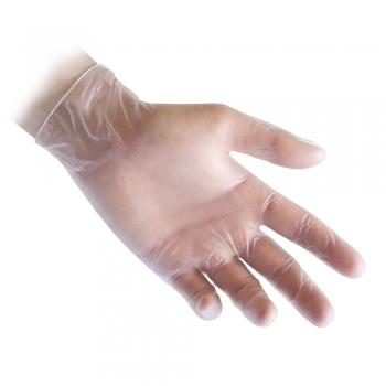 Manusi de unica folosinta, Reflexx 36, nepudrate, vinil, marimea 7, 100 buc/cutie