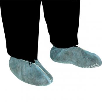 Botosei cu talpa anti-alunecare, Euro Protection,SA045245, albastru, 100 bucati/cutie