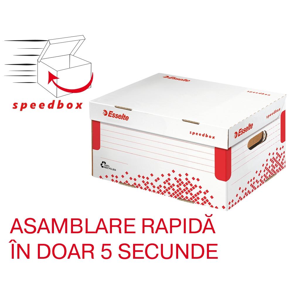 Container de arhivare Esselte Speedbox cu capac M