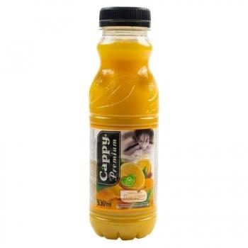 Bautura racoritoare Cappy, nectar portocale, 0.33 l, 12 bucati/bax