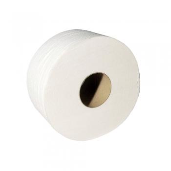Rezerva hartie igienica Jumbo, celuloza, 2 straturi, 135 m, 4 role/bax