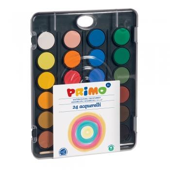 Acuarele Morocolor Primo, 24 culori