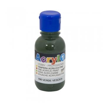 Tempera acrilica Morocolor Primo 125 ml verde imperial