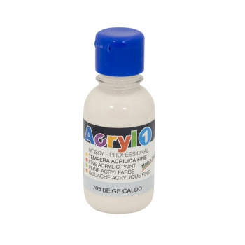 Tempera acrilica Morocolor Primo 125 ml bej pal
