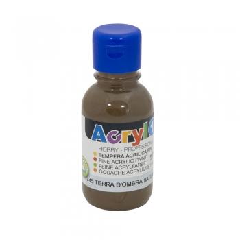 Tempera acrilica Morocolor Primo 125 ml brun