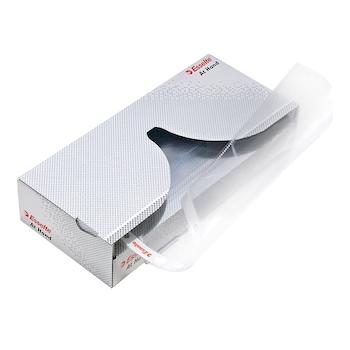 Dispenser folii de protectie Esselte, A4, standard, 43 microni, cutie de  50 buc