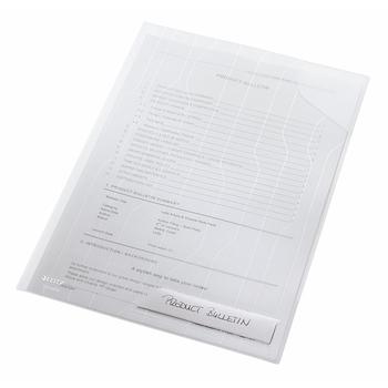Mapa Leitz, CombiFile, eticheta, PP, A4, 200 microni, transparent, 5 bucati/set
