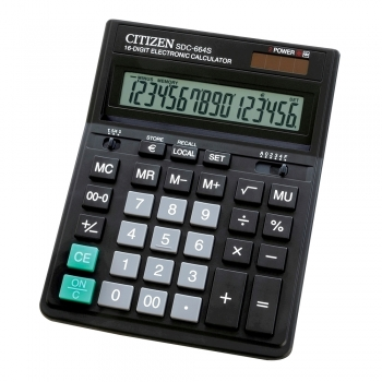Calculator Citizen SDC664S