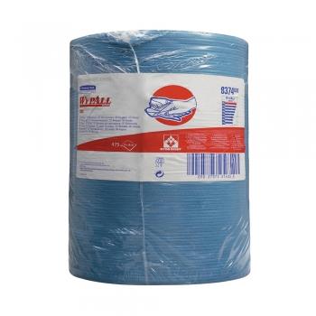 Lavete Kimberly-Clark Wypall X80 albastru dim portie, 38x42 cm, 475 portii