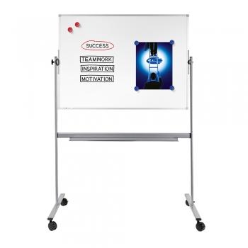 Tablă rotativa Legamaster, magnetica, 100x150 cm