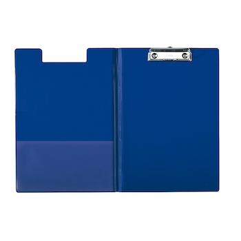 Clipboard Esselte dublu, PP, albastru