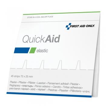 Rezerva Quick Aid, 45 plasturi elastici